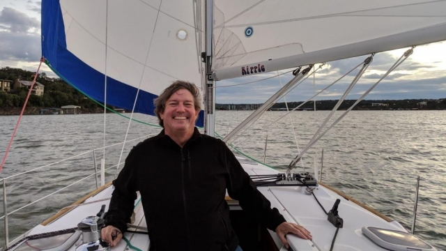 November sailing on Lake Travis